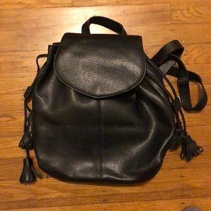 Zara basics mini backpack